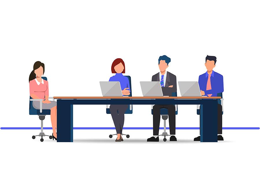 مصاحبه استخدامی گروهی