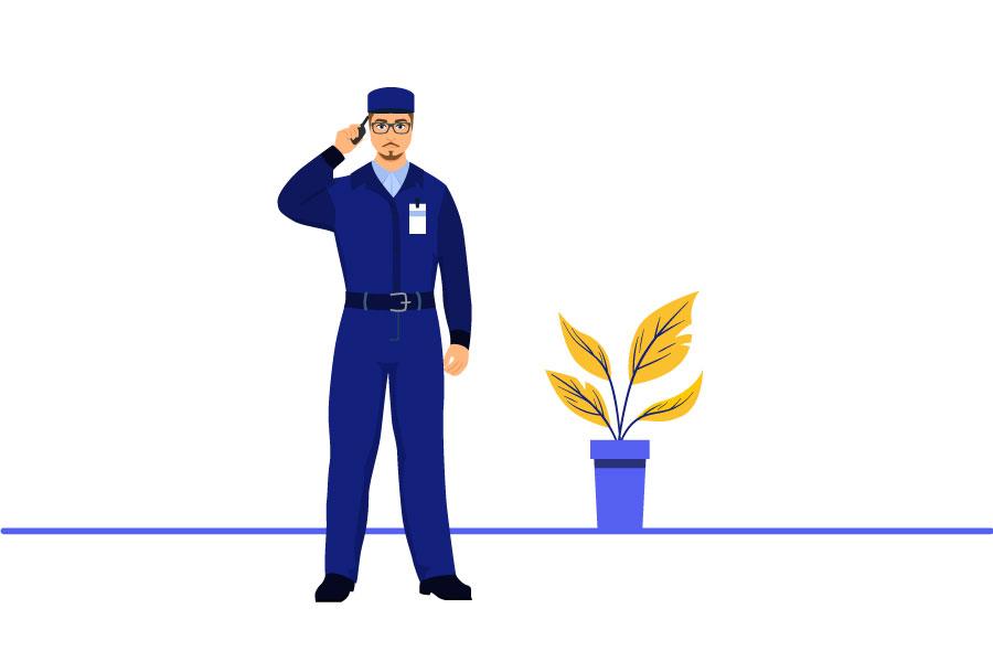 شغل نگهبانی