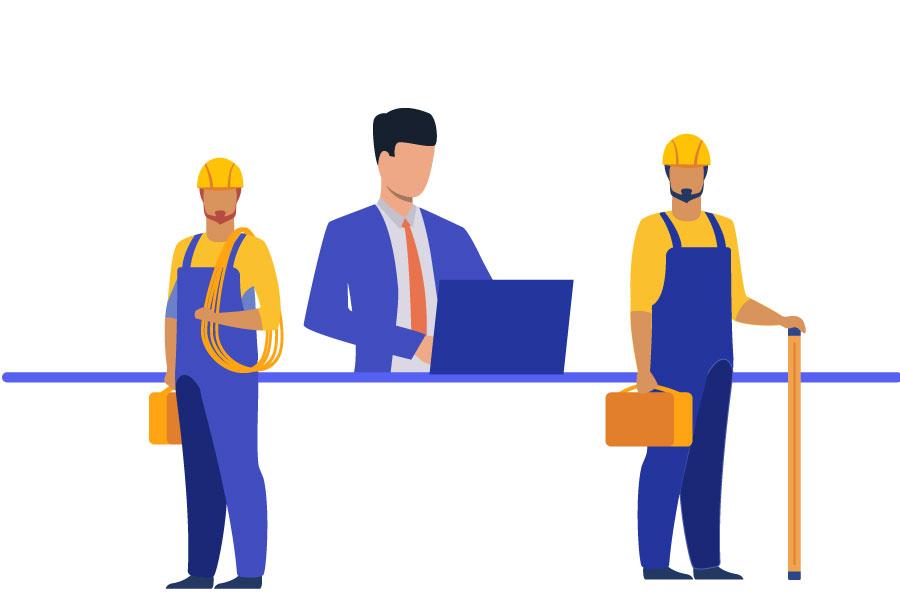 مشاغل مختلف در بازار کار مهندسی برق