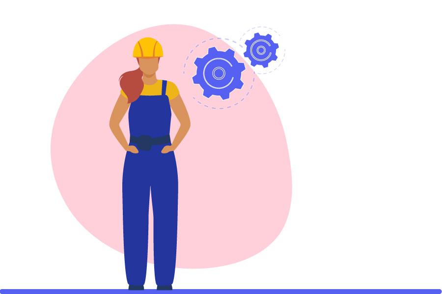 بازار کار مهندسی برق برای خانم ها
