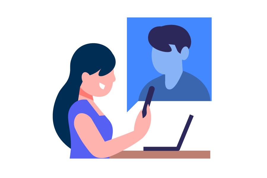 مصاحبه شغلی آنلاین