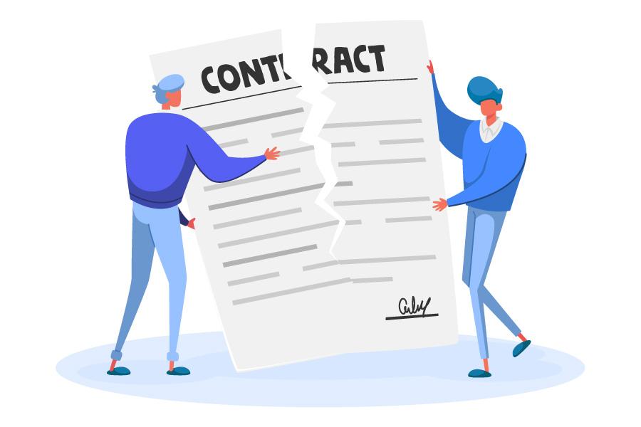 خاتمه قرارداد کار