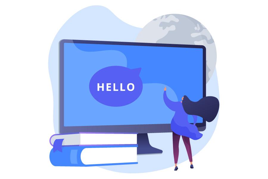 زبان اینترنت