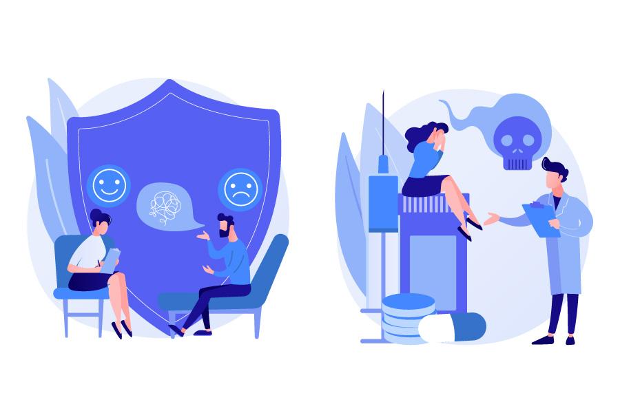 فرق بین روانشناس و روانپزشک