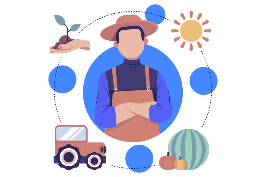کار کشاورزی در قزوین