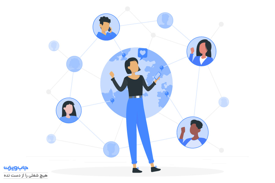 شبکه ارتباطات اجتماعی قوی